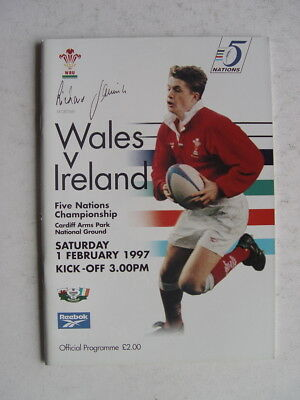 Wales v Ireland 1997 Rugby