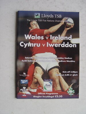 Wales v Ireland 1999 Rugby