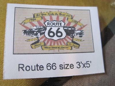 ROUTE 66  3 by 5 ft. FLAG Polyester Banner SEALED