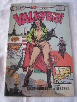 VALKYRIE Eclipse comic No 1 of 3 1988 NM