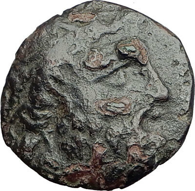 ODESSOS in THRACE 270BC Ancient Greek Coin GREAT GOD Derzelas on HORSE i64548