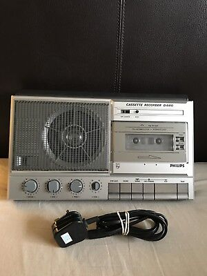 Philips Cassette Recorder D6410