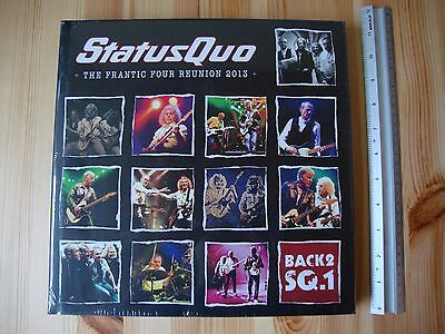 Status Quo ‎Frantic Four Reunion 2013 Wembley Hammersmith 3CD 2 DVD Blu-Ray Live