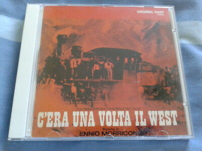 Once Upon A Time In The West Film Soundtrack CD - Ennio Morricone Japanese