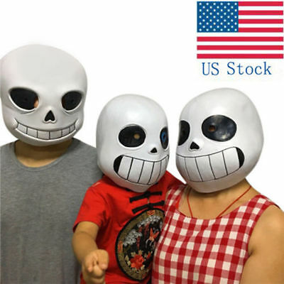 Undertale Unisex Adult Kids legend San Mask Halloween Cosplay headset game prop