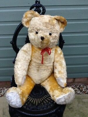 Old Vintage Fully Jointed Teddy Bear