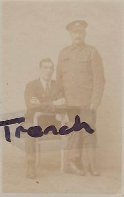 Great War Lincolnshire Regiment soldier with Brother? Boston Lincs.