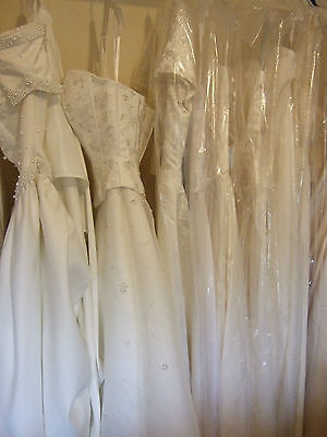 Wholesale Job Lot X 8 Designer Gown Wedding Dresses Clearance