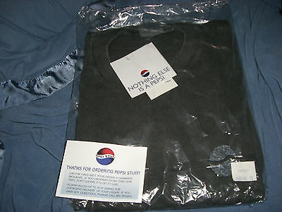 PEPSI COLA 1990's (SEALED) NOTHING ELSE IS A PEPSI T-SHIRT
