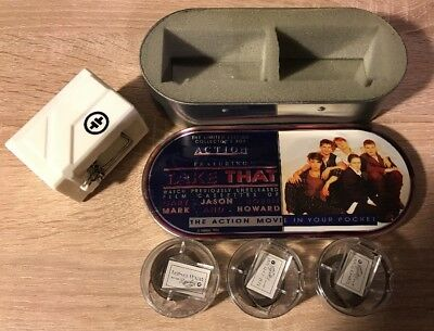 Take That Action Movie Set Mini Pocket Projector 1994 Rare Limited Edition