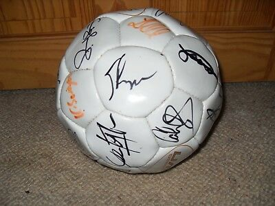 Signed Portsmouth FC football