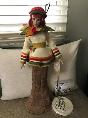 Helen Kish Doll Spirit of The Seasons Autumn NWT 2005