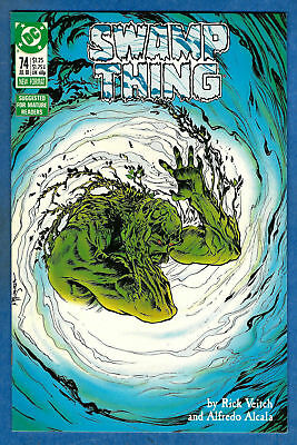 SWAMP THING Issue #74 (2nd Series) DC 1988 VF/NM