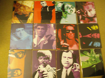 12 Sets Of 12  Boards Film Movie Music Pop Star Art Job Lot Collect London E3