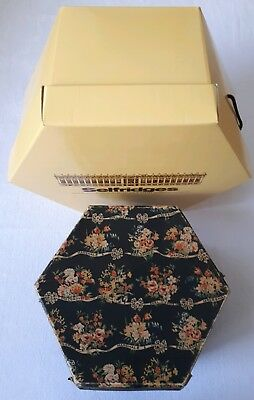 Two Vintage Hat Boxes from Marshall & Snelgrove + Selfridges, London