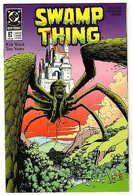 Swamp Thing Issue #87 (1989, DC) VF/NM