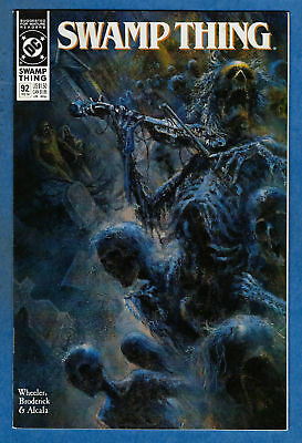 SWAMP THING Issue #92 (2nd Series) - DC 1989 VF/NM