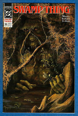 SWAMP THING Issue #93 (2nd Series) - DC 1990 VF/NM