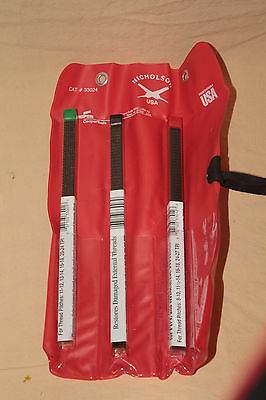 NICHOLSON COOPER 33024 THREAD RESTORATION FILES #s 1, 2, 7 IN TOOL ROLL 5267