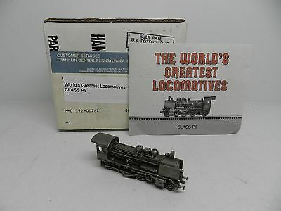 Franklin Mint Worlds Greatest Locomotives CLASS P8 Pewter Locomotive Train
