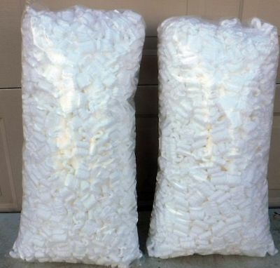 16.0 gallons White NEW PEANUTS Anti Static POPCORN PACKING FAST FREE SHIP