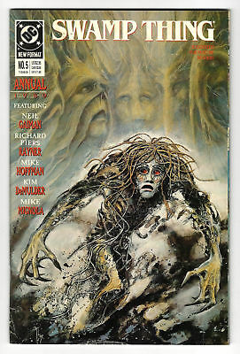 SWAMP THING Annual Issue #5 (2nd Series) - DC 1989 VF/NM