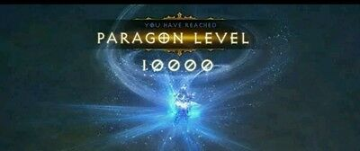 Diablo 3 Paragon Power Leveling 10 Trillion Exp Lvl 1 1000 Season