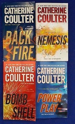Lot  of 4 CATHERINE COULTER  The FBI Series Trade PB   (E9-2)