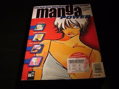 Manga Power Band 20 Chobits Mini-Goddess, the Devil Children, Rave
