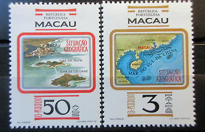 Macao 1982 Macao Geographical Situation Set. MNH.