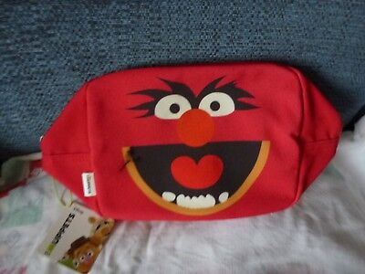 Animal from Muppet Show wash bag - BNWT
