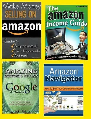 The Amazon Income Guide Bundle (eBook-PDF file) 12 Items Included