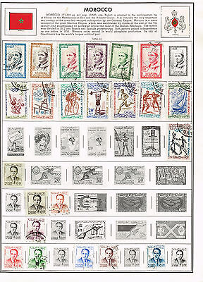 32 Morocco 1956-1982  stamps