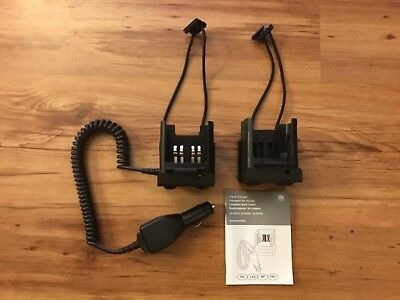 Motorola RLN4884B Vehicle Travel Charger HT MT MTS MTX PR XTS Portable Radio