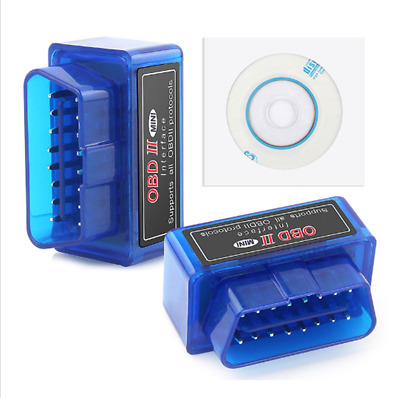 20XMini Auto Car V2.1 ELM327 OBD2 ODBII Bluetooth CAN BUS Scanner Tool ANDROID