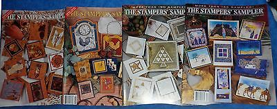 THE STAMPERS' SAMPLER 4 Magazines 04/05 - 06/07- 10/11 2000 - 12/01 2001  TA1
