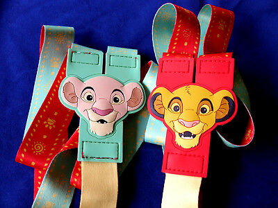 Disney * SIMBA - LION KING * Reversible Pin Trading Lanyard