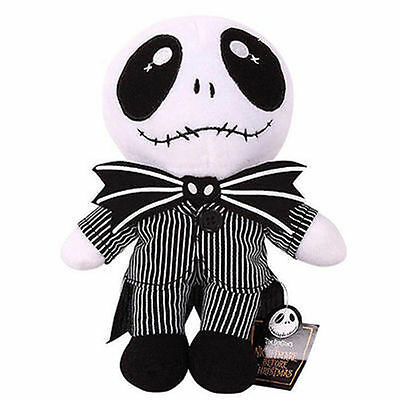 """9"""" Nightmare Before Christmas Jack Skellington Plush Toy Cute Soft Toy Doll gift"""