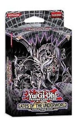 YUGIOH  GATES  OF  THE  UNDERWORLD    STRUCTURE  DECK   1st ED   BRAND  NEW