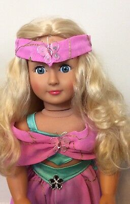 OOAK Our Generation Doll Custom Painted Face And Custom Outfit