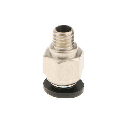 Male Thread Outer 4mm Push In Joint Pneumatic Connector Quick Fitting Teflon
