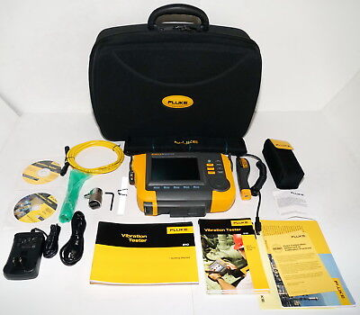 Fluke 810 Handheld Mechanical Vibration Tester 0 To 80G Peak Sn3022 Like New