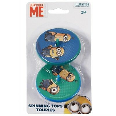 Minions Spinning Top 2pk Kid's Toy