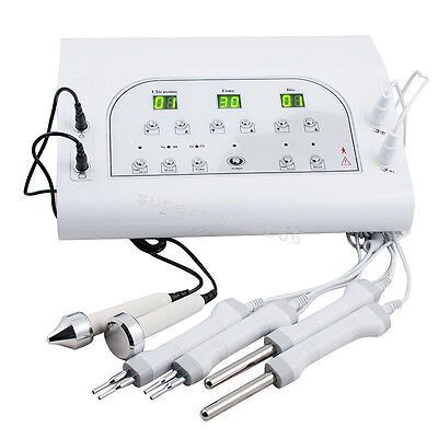 Bio Ultrasound Microcurrent Facial Face Skin Electrotherapy lift Beauty Machine