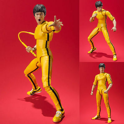 S.H.Figuarts BRUCE LEE Yellow Track Suit Simple style&Heroic Action Figures CAN