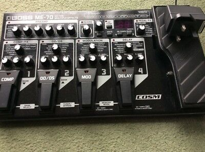 Boss ME-70 Multieffects Board Great Condition With Power Supply