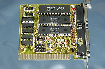 ATIO-V8 I/O Controller Game/MIDI parallel serial port ISA