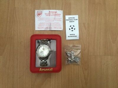 Arsenal Double Champions Limited Edition Watch 2001