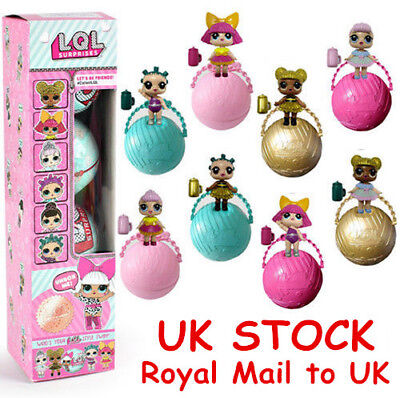 1-8PCS LOL SURPRISE DOLL 1Lil Sisters Ball 7Layers Series Surprise Toy UK Stock!