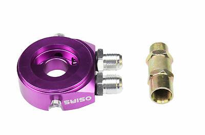 "Purple New Oil Cooler Filter Sandwich Plate Adaptor An10 M20 X 1.5Mm 3/4"" 16 Unf"